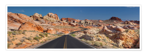 Premium-Poster Valley of Fire State Park