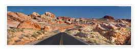 Premium-Poster  Valley of Fire State Park - Rainer Mirau