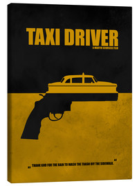 Leinwandbild  Taxi Driver - Minimal Alternative Film TV - HDMI2K