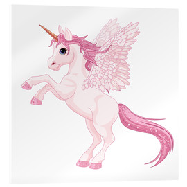 Acrylglasbild  Mein Einhorn - Kidz Collection