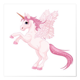 Premium-Poster  Mein Einhorn - Kidz Collection