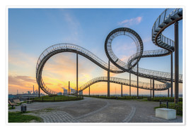 Premium-Poster  Tiger and Turtle Duisburg - Michael Valjak