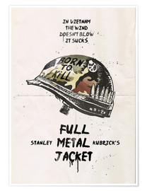 Premium-Poster  Full Metal Jacket (Englisch) - 2ToastDesign