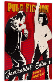 Acrylglas  alternative pulp fiction twist contest art - 2ToastDesign