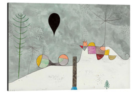 Alubild  Winter Bild - Paul Klee