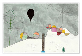 Premium-Poster  Winter Bild - Paul Klee