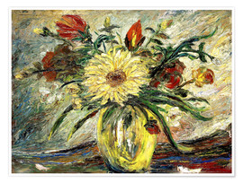 Premium-Poster  Hommage an Vincent van Gogh - Joaquin Clausell