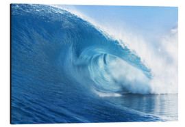 Alubild  Blue Ocean Wave