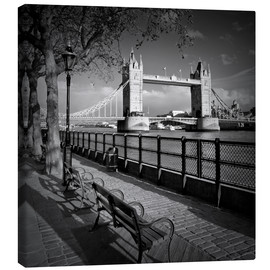 Leinwandbild  LONDON Tower Bridge - Melanie Viola