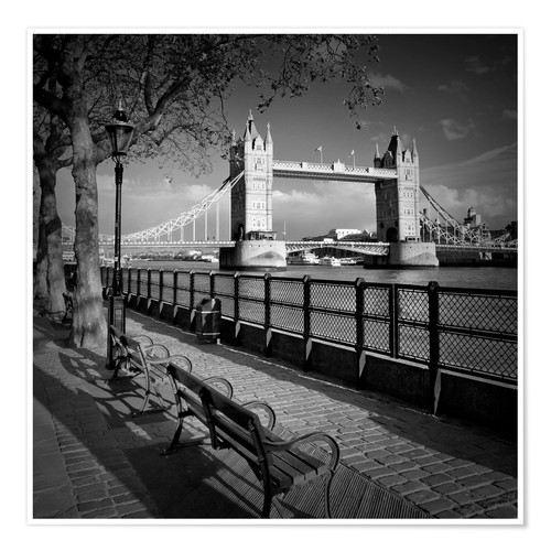 Premium-Poster LONDON Tower Bridge
