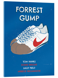 Acrylglasbild  alternative forrest gump sneakers art - 2ToastDesign