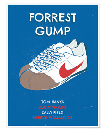 2ToastDesign - alternative forrest gump sneakers art