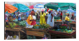 Alubild  Markt in Castries, St. Lucia - Jonathan Guy-Gladding