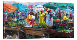 Jonathan Guy-Gladding - Markt in Castries, St. Lucia