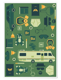 Premium-Poster  Breaking Bad - Tracie Andrews