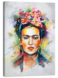 Leinwandbild  Frida Flower Pop - Tracie Andrews