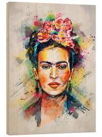 Holzbild  Frida Flower Pop - Tracie Andrews