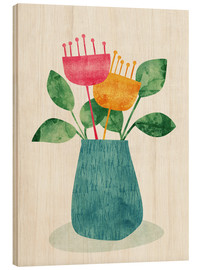 Holzbild  Bouquet - Tracie Andrews