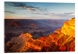 Acrylglasbild  Sonnenuntergang am Grand Canyon South Rim, USA - Matteo Colombo
