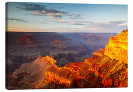 Leinwandbild  Sonnenuntergang am Grand Canyon South Rim, USA - Matteo Colombo