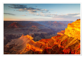 Poster  Sonnenuntergang am Grand Canyon South Rim, USA - Matteo Colombo