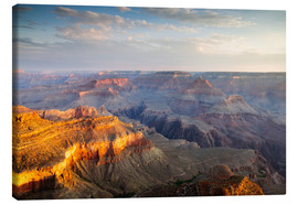 Leinwandbild  Sonnenaufgang von Grand Canyon South Rim, USA - Matteo Colombo