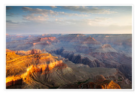 Premium-Poster Sonnenaufgang von Grand Canyon South Rim, USA