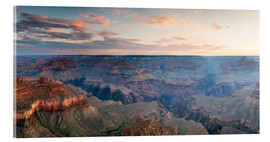 Acrylglasbild  Panorama-Sonnenaufgang von Grand Canyon, Arizona, USA - Matteo Colombo
