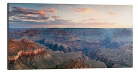Alubild  Panorama-Sonnenaufgang von Grand Canyon, Arizona, USA - Matteo Colombo