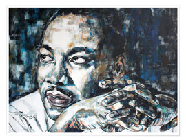 Premium-Poster Martin Luther King