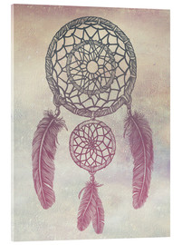 Acrylglasbild  Dream Catcher Rose - Rachel Caldwell