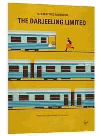 Forex  No800 My The Darjeeling Limited minimal movie poster - chungkong