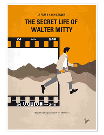 Premium-Poster The Secret Life Of Walter Mitty