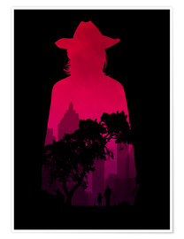 Premium-Poster  The Walking Dead - Carl Grimes - HDMI2K