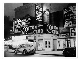 Premium-Poster Cotton Club in Harlem, New York