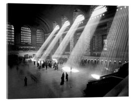 Acrylglasbild  Historische Grand Central Station