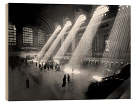 Holzbild  Historische Grand Central Station