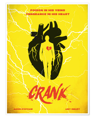 Premium-Poster Alternative crank art movie inspired