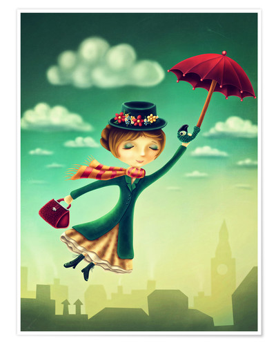Premium-Poster Marry Poppins