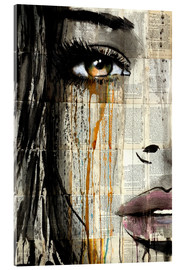 Acrylglas  silent jungle - Loui Jover