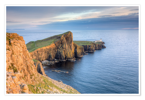 Premium-Poster Neist Point, Isle of Skye, Schottland