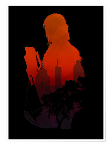 Premium-Poster The Walking Dead - Daryl Dixon