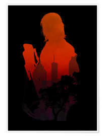 Premium-Poster  The Walking Dead - Daryl Dixon - HDMI2K