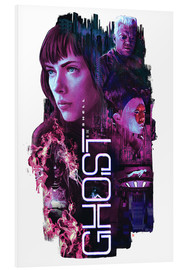 Hartschaumbild  Ghost in the Shell - Barrett Biggers