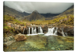 Leinwandbild  Fairy Pools, Isle of Skye, Schottland - Michael Valjak