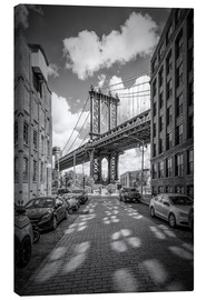 Leinwandbild  NEW YORK CITY Manhattan Bridge - Melanie Viola