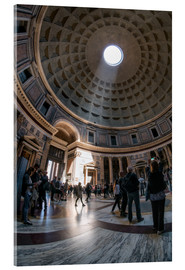 Acrylglasbild  Das Pantheon in Rom, Italien - Jan Christopher Becke