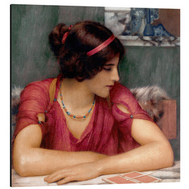 Alubild  Der Brief - John William Godward