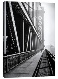Leinwandbild  Manhattan Bridge 1936 - Christian Müringer