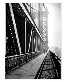 Premium-Poster  Manhattan Bridge 1936 - Christian Müringer